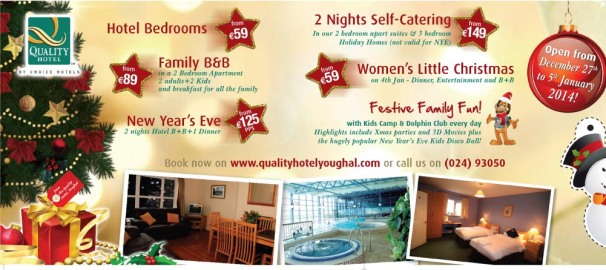Special Christmas offers from Quality HOtel