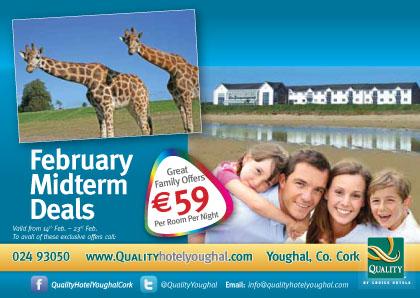 Holiday deals €59 per room per night