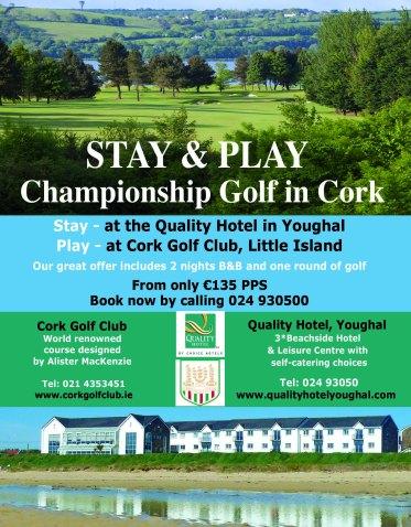 Golf deal Cork Golf Club & Quality Hotel, Youghal