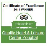 trip advisor certificate of excellence 2014 winner
