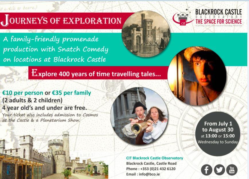 Blackrock Castle Journeys of Exploration