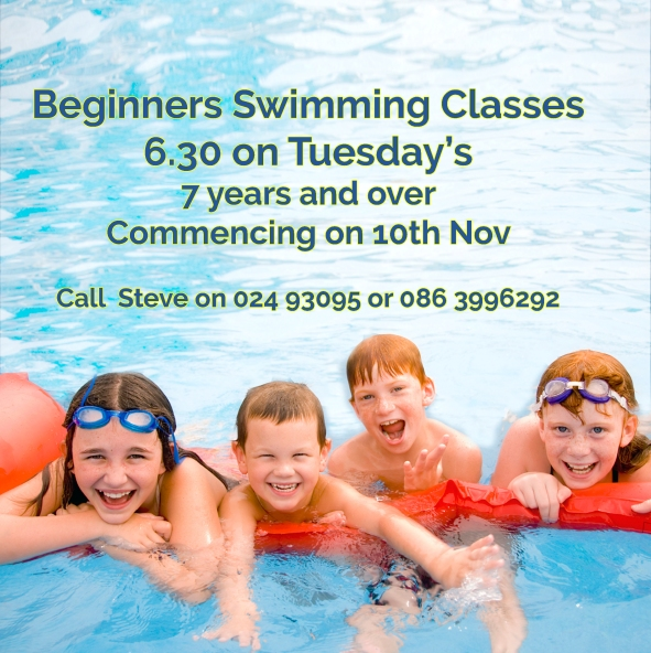 Swimming lessons for beginners in Cork