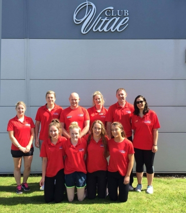 The team at Club Vitae, Youghal
