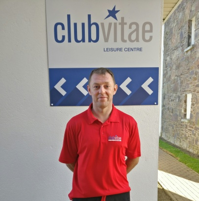 Club VItael Youghal Manager Barry Power