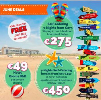 June holiday deals in Youghal