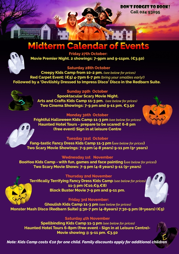 MIdterm Children Kids Camp in Youghal