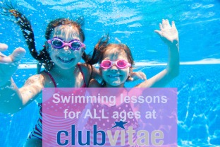 Swim lessons for all ages