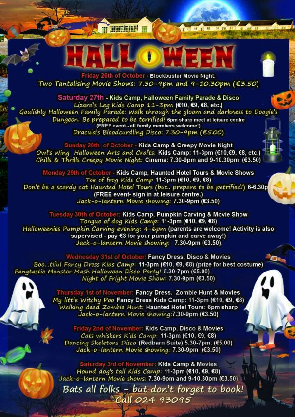 Halloween Activities Cork 2018